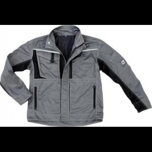 Arbeitsjacke Champ weiß-grau Gr Funsport Bekleidung & Schutzausrüstung XL